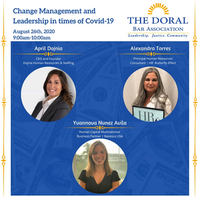 Change Management and Leadership in times of Covid-19