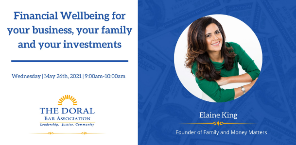 Financial Wellbeing for your business, your family and your investments.